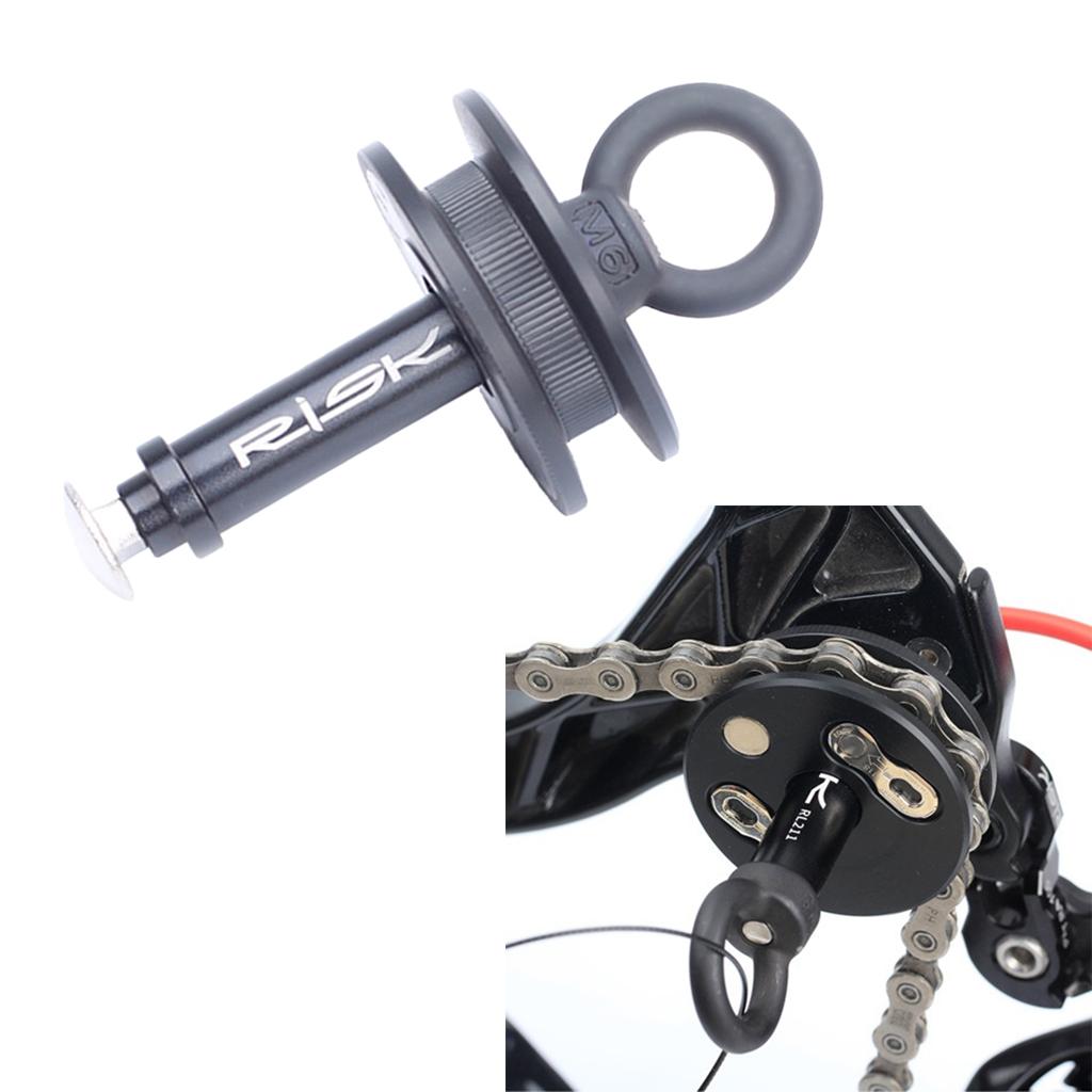 Bicycle Dummy Hub Bike Chain Keeper Holder Through Axle Quick Release Hub