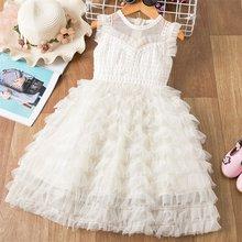 Летнее платье для маленьких девочек; Вечерние платья-пачки для маленьких принцесс на свадьбу; Одежда для девочек; Бальное платье на день рож...(China)