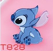 1PCS Cartone Animato Carattere Blu alien cane Spilla Piccolo Mostro del fumetto Distintivo Acrilico Decorazione Su Bambini Zaino(China)