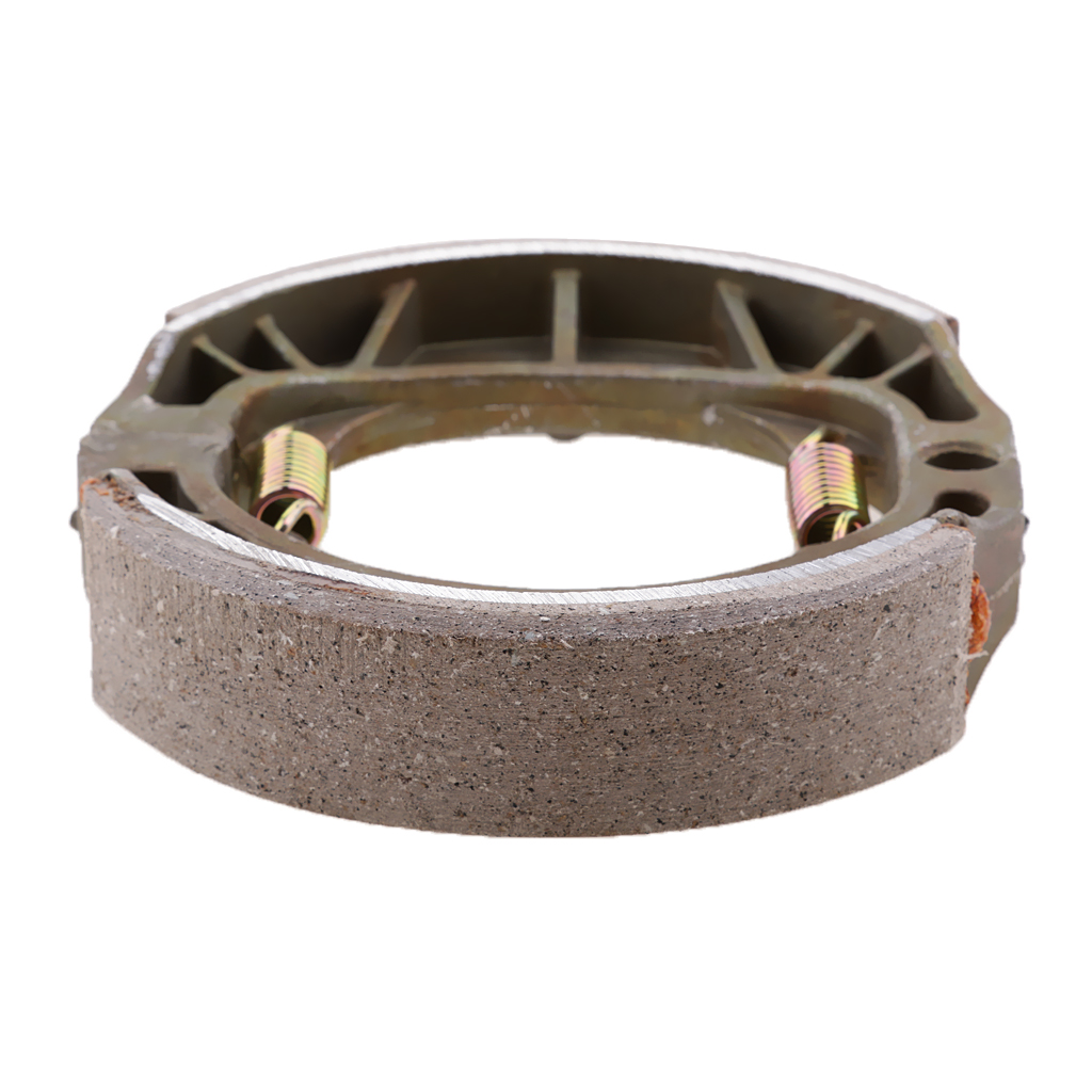 105mm Silver Rear Drum Brake Pads Shoes 50 110 125 150 cc GY6 Moped Scooter