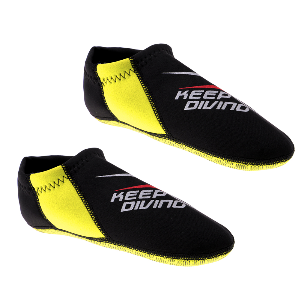 Unisex 3mm Neoprene Socks  Scuba Diving Aqua Fins Boot Dive Swimming Beach Pool Snorkeling Water Exercise Boots XS-XL