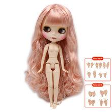 Fábrica gelada blyth boneca nude corpo comum 1/6 bjd 30cm moda bonecas brinquedos presente preço especial à venda(China)