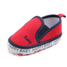 Hot sale Cartoon Character style Toddlers Baby Canvas shoes Baby moccasins Soft bottom First walkers Bebe Anti-slip Baby shoes(China)