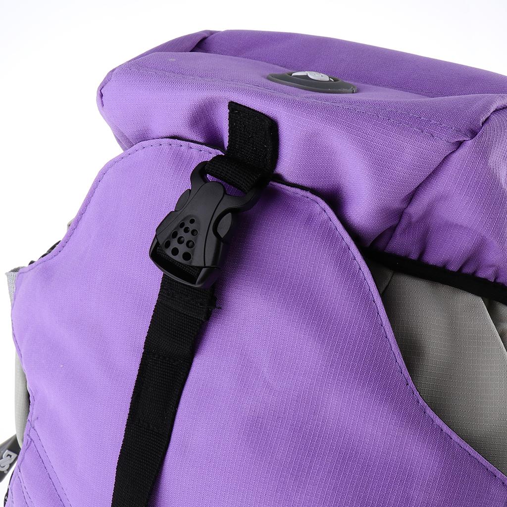 Professional Roller Skates Backpack Inline Skates Skating Shoes Boots Carry Bag Durable Multi-pocket Sports Rucksack Unisex