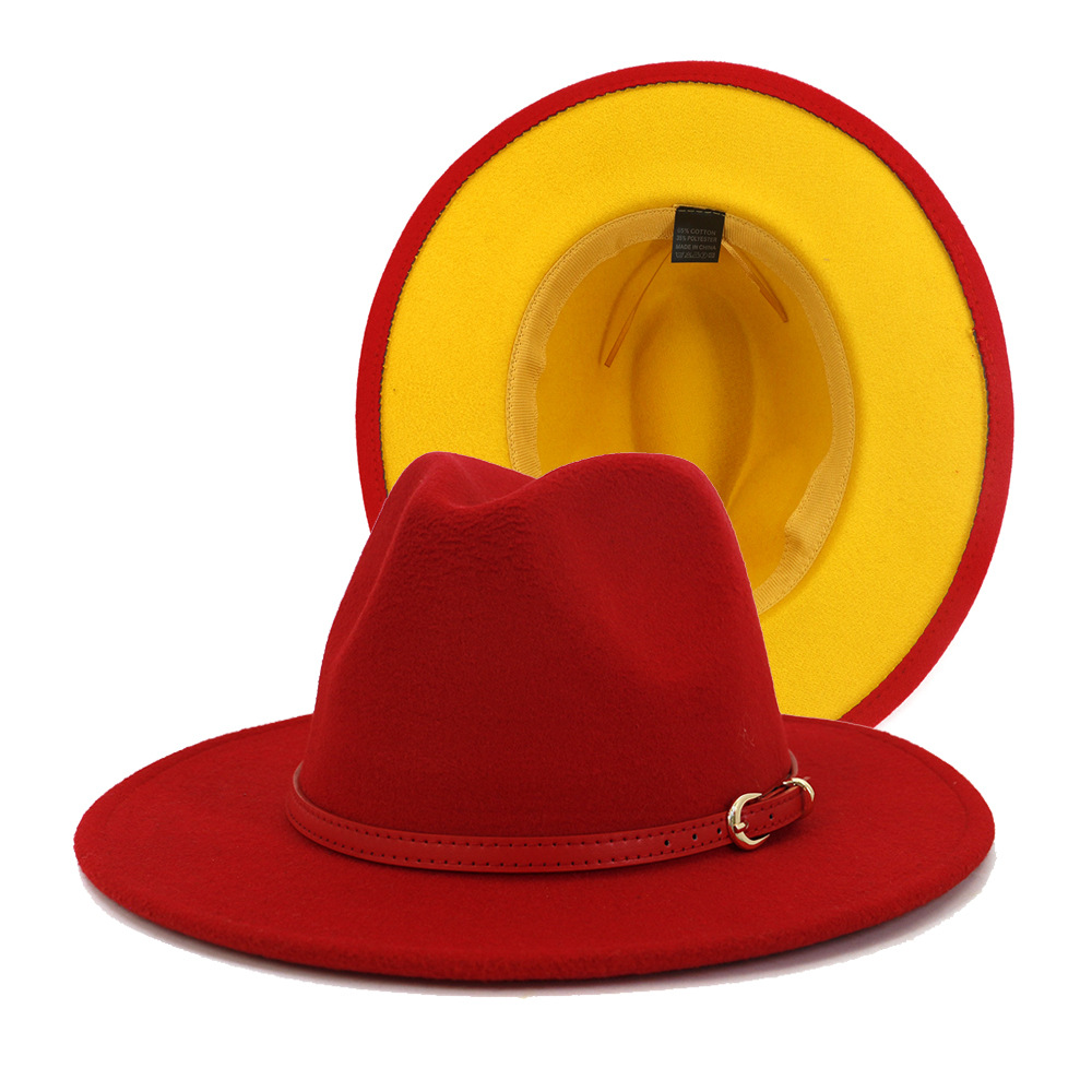 Mens British Retro Jazz Hat Fashion Panaman Hats Fedora Fedoras Cotton Plaid Spring Autumn M.D.Y