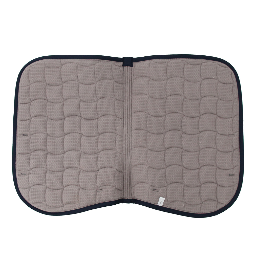 All Purpose Quilted Cotton Contour Saddle Pad English, Equestrian Saddle Pads for Horses Ponies