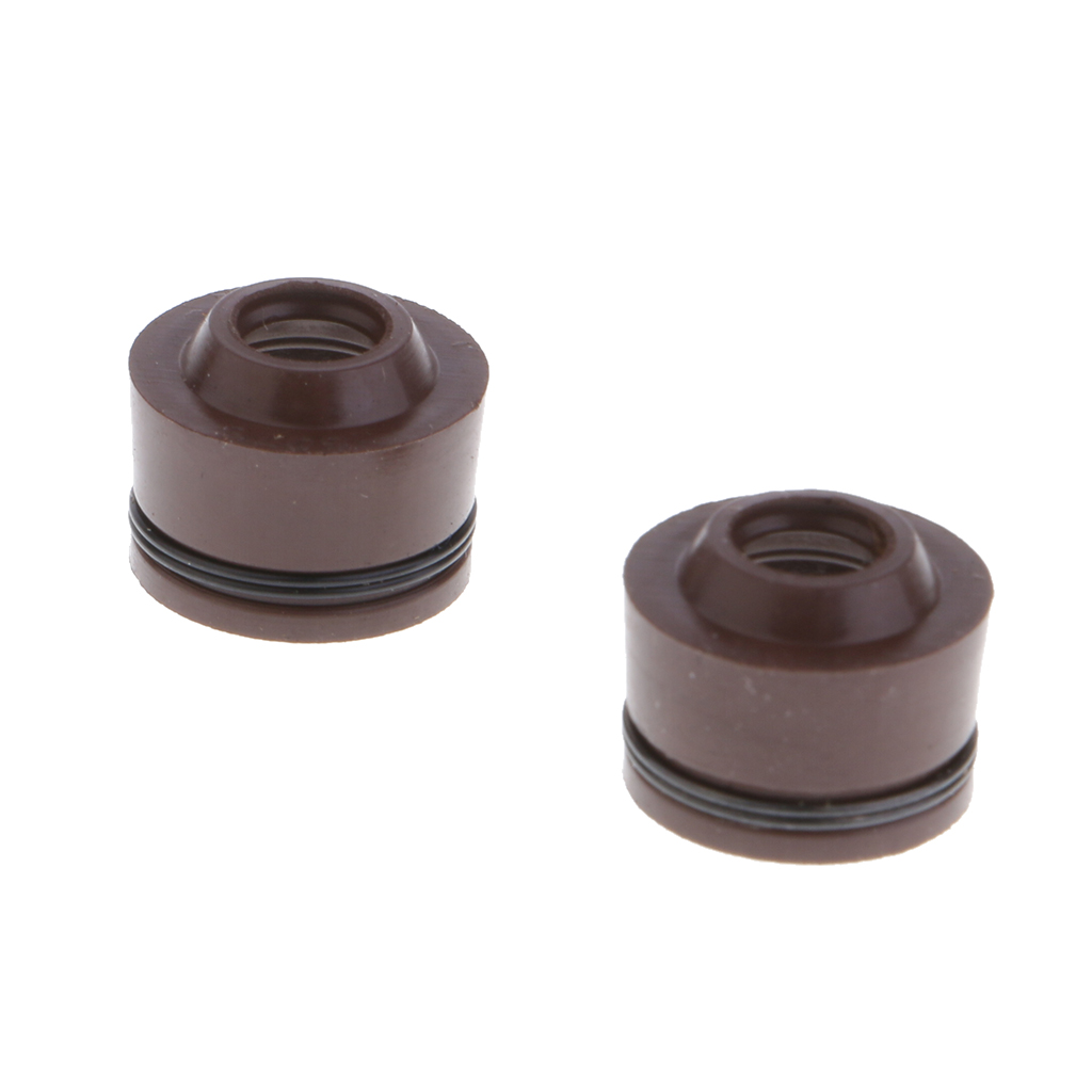 2Pcs Valve Stem Seals Replacement for GY6 50cc 80cc 125cc 150cc Engine Scooter Moped Motor