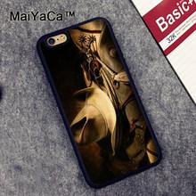MaiYaCa kovboy kovboy çizmeleri düz şapka telefon kılıfı cilt kabuk iPhone XR XS Max X 11 Pro MAX 6 6S 7 8 artı 5S kapak kabuk(China)