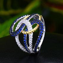 GODKI Koreanische Trendy 3 stücke Crossover Chunky Schmuck-Set Frauen Hochzeit Zirkonia Dubai Gold Halskette Ohrring Ring Schmuck Sets(China)