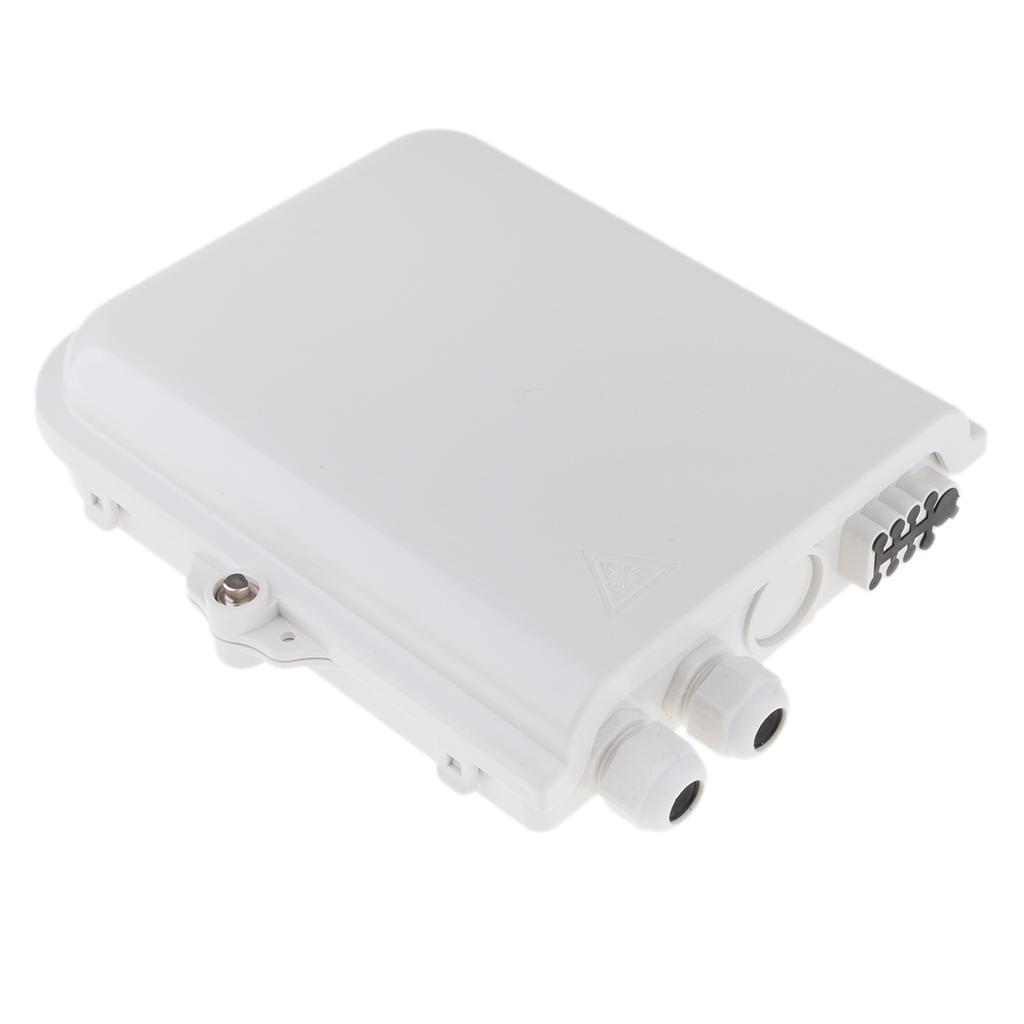 8port FTTH Fiber Optic Termination Outdoor Optical Splitter Box 1X8 Core