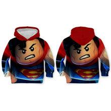 Future City 3D Hoodies LEGO Popular fantasia toy Engraçado cosplay de super-heróis da Marvel meninos frescos homens moletom colorido novidade roupas(China)