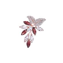 Baiduqiandu Merek Baru Warna Rose Emas Plated Bintang Bros Pin untuk Wanita Fashion Perhiasan(China)