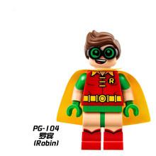 Super heróis série legoing batman filme figuras de ação modelo blocos de construção brinquedos para crianças super-heróis batman(China)