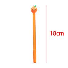 2020 гелевая ручка с фруктовой головкой, креативная мультяшная Милая ручка для домашних животных, гелевая ручка для девочек, студенческий тес...(China)