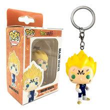 Funko POP Bolso Keychain Pop BEERUS Amina Dragon Ball GOKU VEGETA Super Saiyan GOTENKS Action Figure Brinquedos Modelo Gift Collection(China)