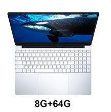 15.6 ''الألعاب كمبيوتر محمول مع الخلفية لوحة المفاتيح 8GB RAM 1 تيرا بايت 512G 256G 128G SSD ROM دفتر الكمبيوتر Win10 برو إنتل J3455 Ultrabook(China)
