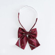 קשרי נשים מוצק פסים הדפסת נשים קשתות עניבה כל משחק אחיד בית ספר סטודנטים פשוט טרנדי פורמליות אלגנטי גבירותיי קשת שיק(China)
