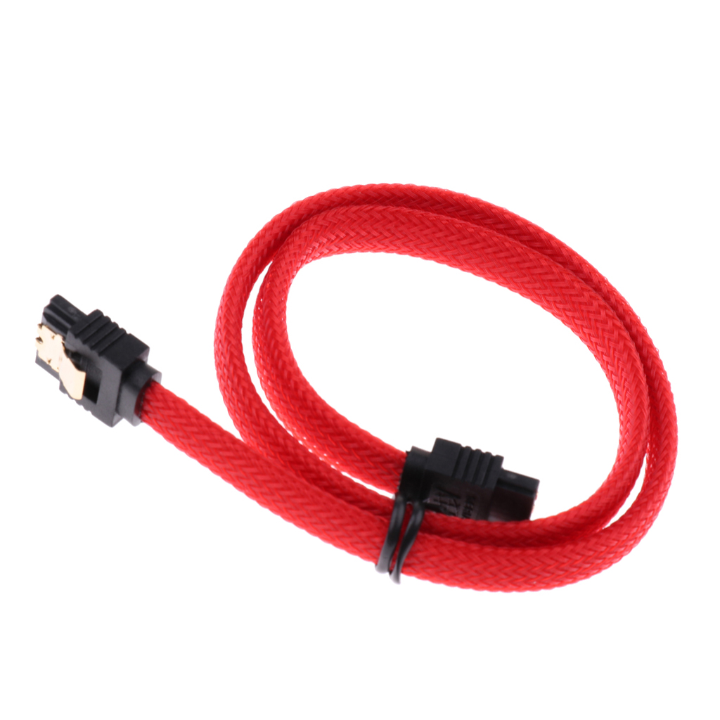 SATA III SATA3.0 HDD Data Cable Straight to Straight Hard Drive Cable 25.5cm