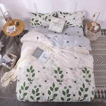 Yellow Banana bed linen bedding set boy girl home flat bed Sheet Pillowcase Duvet Cover 3/4pcs queen king full single size(China)
