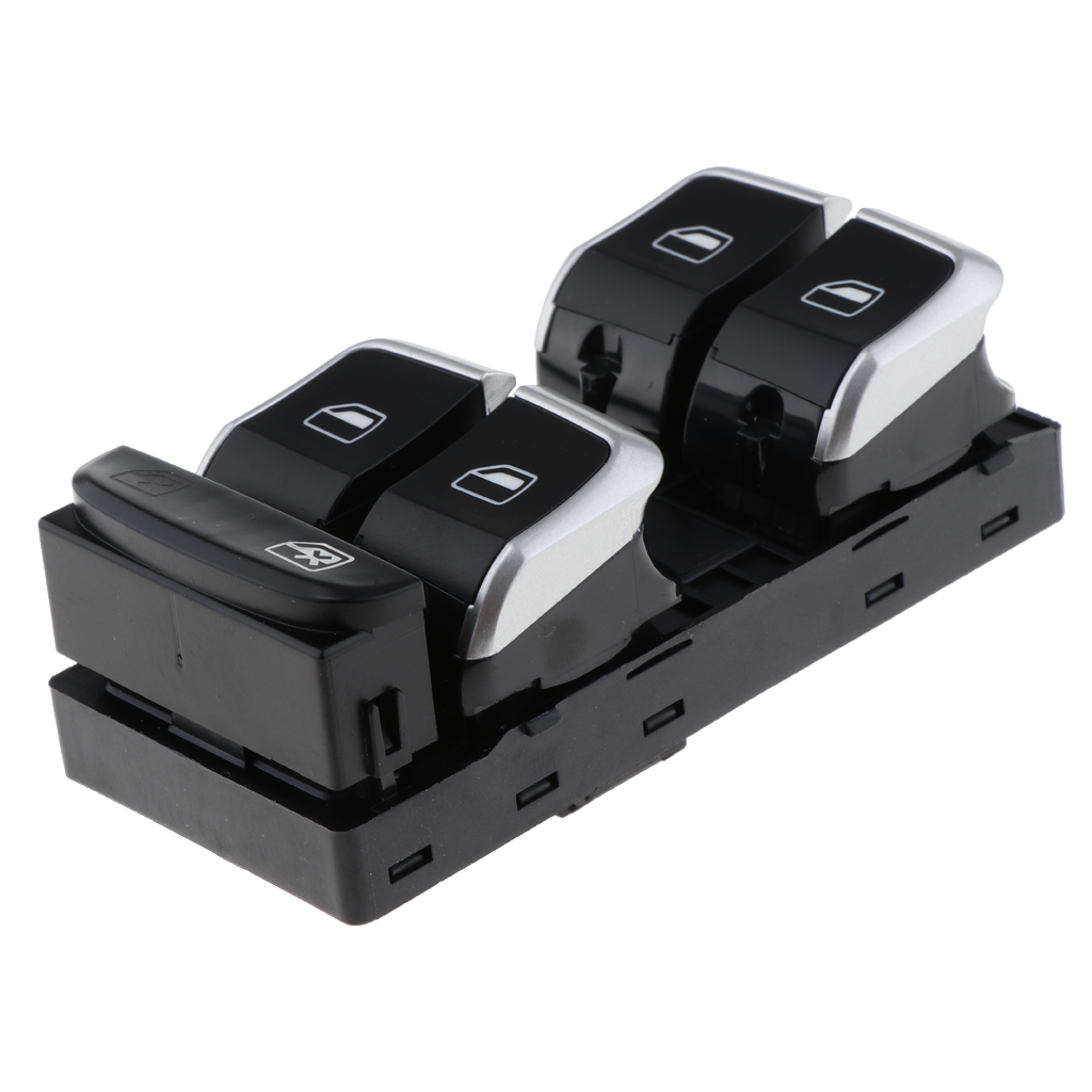 Car Auto Electric Power Window Master Switch for Audi A4 B8 Q5 Q3 Conversion Kit