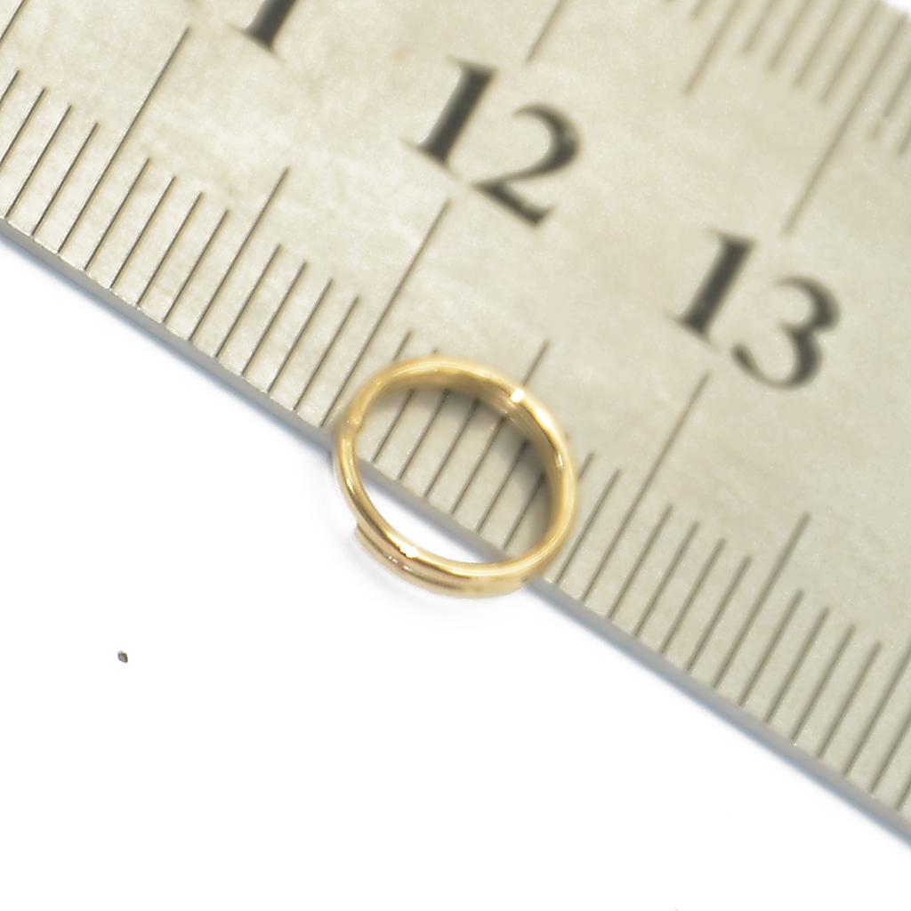 conexión anillos 50 aluminio anillos color plata ojales 9 mm redondo