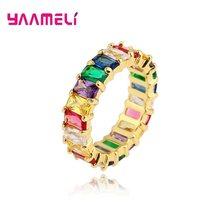 משלוח חינם דובאי תכשיטי סטים עבור בנות 925 סטרלינג כסף צבעוני שרשרת/Bracelts/אצבע טבעות מסיבת חתונת תכשיטים(China)