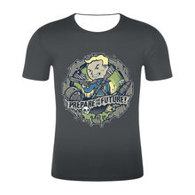 Harajuku последняя desgin Горячая игра Fallout футболка для мужчин/женщин футболки с 3D-принтом короткий рукав Футболка уличная хип хоп летние топы(China)