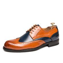 Мужские туфли-оксфорды с острым носком; Деловая змеиная обувь для мужчин; Лоферы с кисточками; Уличная обувь на плоской резиновой подошве; М...(China)