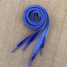 Cordones de superficie de terciopelo de 1,6 cm de ancho 80/160cm Unisex negro colorido cordones para zapatillas deportivas para zapatillas de deporte Casual mujeres hombres cordones de zapatos(China)