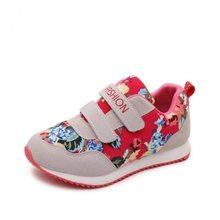 אביב חדש ילדי נעלי בנות סניקרס אלזה אנה נסיכת ילדי נעלי אופנה מקרית ספורט ריצה עור עבור בנות(China)