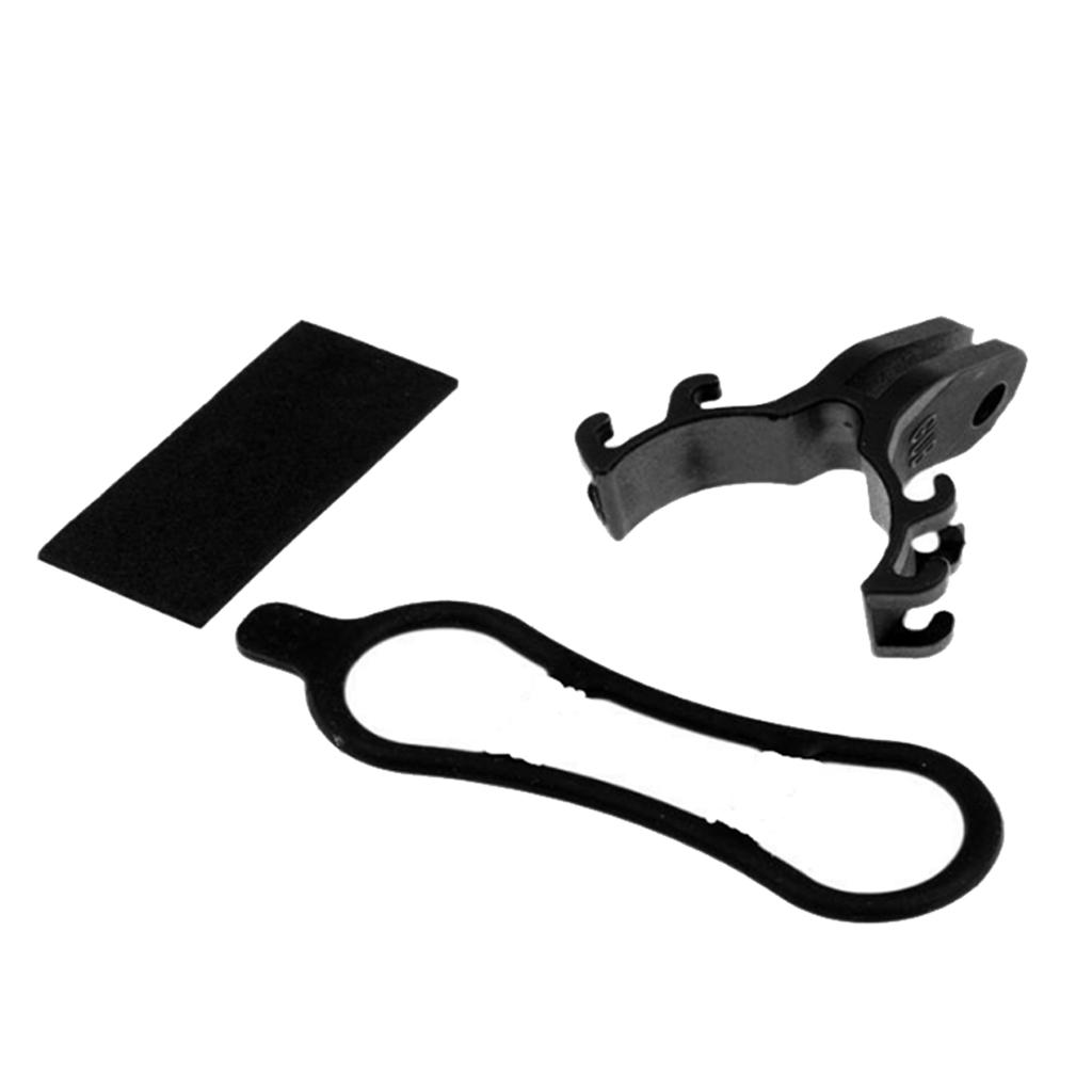 Light Torch Flashlight Holder Clip Camera Mount Bracket For Gopro