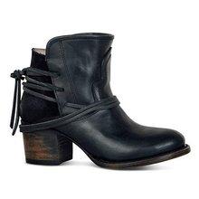 Fujin 2019 Stiefel Frauen Leder Schuhe für Winter Boot Schuhe Frau Casual Frühling Botas Mujer Weibliche Knöchel Damen Botas Winter neue(China)