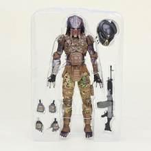20cm NECA 2018 O Emissário Final figura Predador Predador Aliens Figuras de Ação toy Collectible Modelo boneca de presente(China)