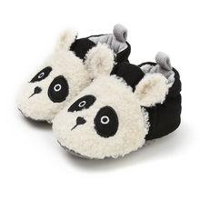 Детская обувь, зимние детские тапочки, забавные мягкие домашние тапочки для мальчиков и девочек, домашние тапочки с героями мультфильмов 312(China)