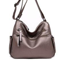 Cuir femmes décontracté fourre-tout sacs haut sac à main femme sac à bandoulière sacs à main messager dame main Bolsa Feminina nouvelle vente chaude C769(China)
