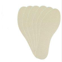 Correndo estiramento respirável desodorante sapatos ortopédicos palmilhas insert pés solas almofada massagem choque mais grosso almofada de ar 02(China)
