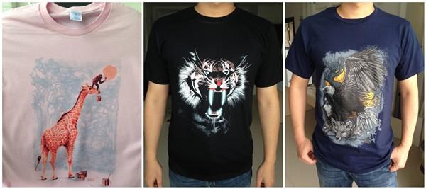 slim fit теэ рубашку мужчины транслируются ходьбы 2 Музыка фотография футболки мужчины