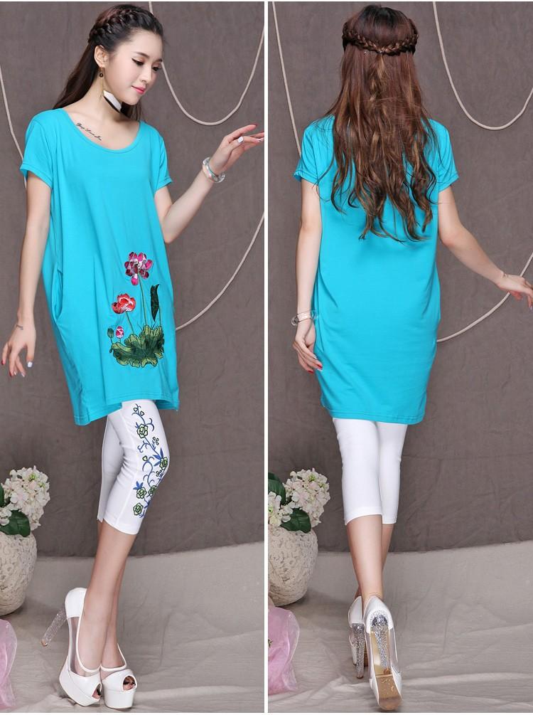 Женская футболка loose t V00882