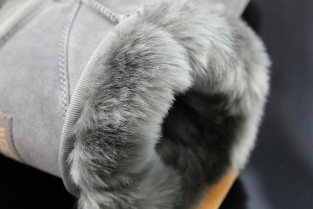 Brand Designer Fashion Warm  Mid Calf    Warm Winter Snow Boots Plus