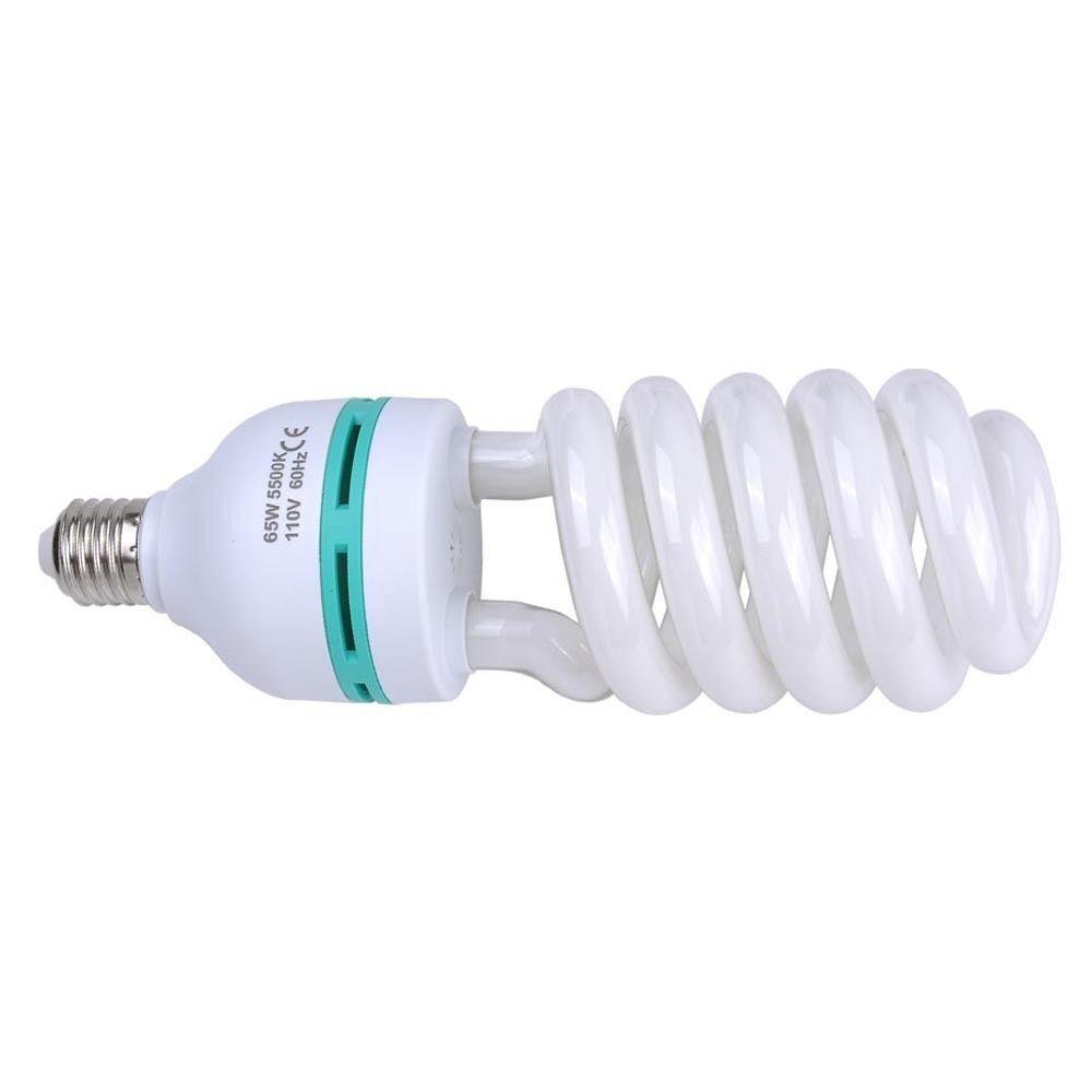 65W 5500k фото студия энергосберегающие лампы день компактная люминесцентная лампа