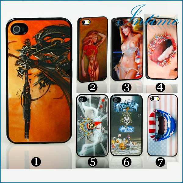 Чехол для для мобильных телефонов Apple iPhone 5 5S Sex girl 1-4