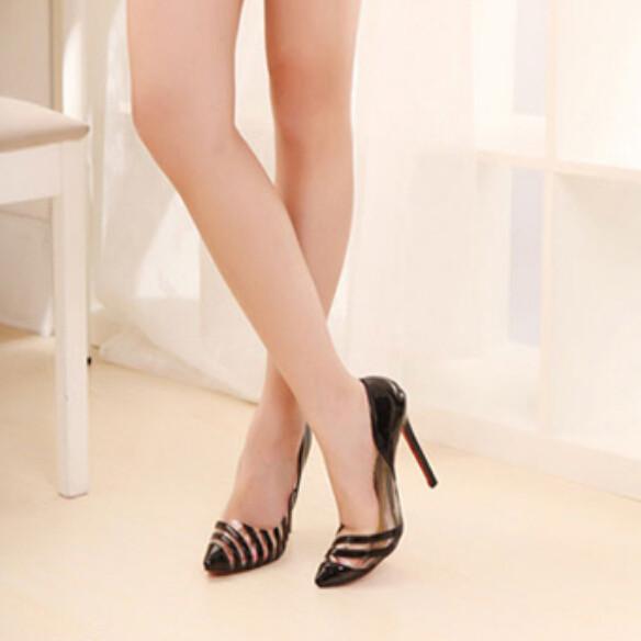 Туфли на высоком каблуке  jiujiumao