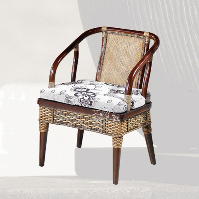 FS3007 Arts Nordic Balcony Furniture Outlets Chair Cafe Dining Chairs Rattan