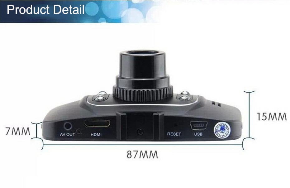 hd dvr dash camera instructions in real english