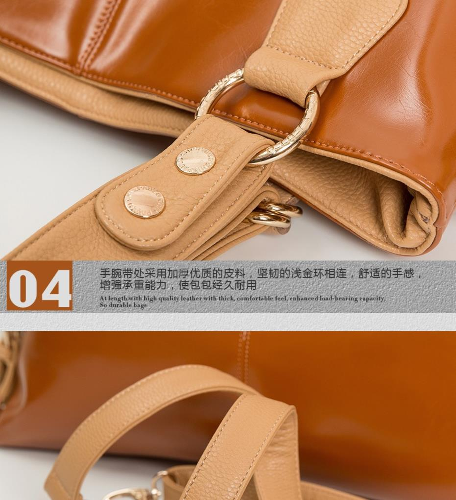 Women Handbag Burnished Leather Shoulder Bags Women Messenger Bags