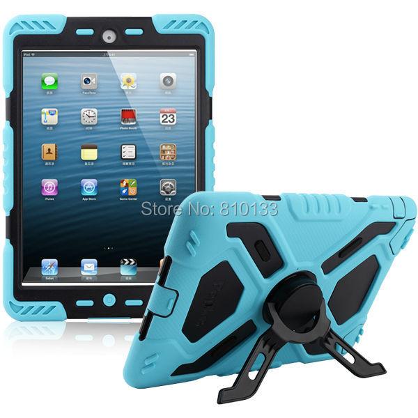 Pepkoo Паук экстремальных военных сверхмощный Водонепроницаемый пыленепроницаемый/противоударный с подставкой повесить Чехол для iPad 2 3 4 розничной упаковке