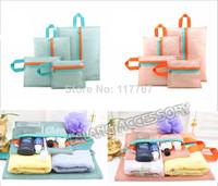 1шт практических женщин косметический мешок макияж сумка путешествия сумочка водонепроницаемый туалетные принадлежности Прачечная чистка мешочек хранения сумка bz871543
