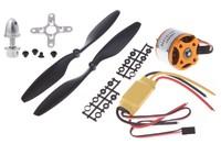 1set a2212 1000кв Скороход бесколлекторный мотор + 30А esc + 1045 пропеллер quad ротор для rc самолеты мультикоптер