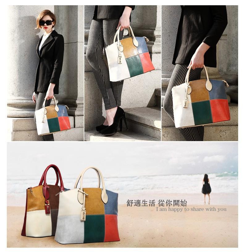 2014 New OPPO Brand Women's Totes Shoulder Bags Patent Leather