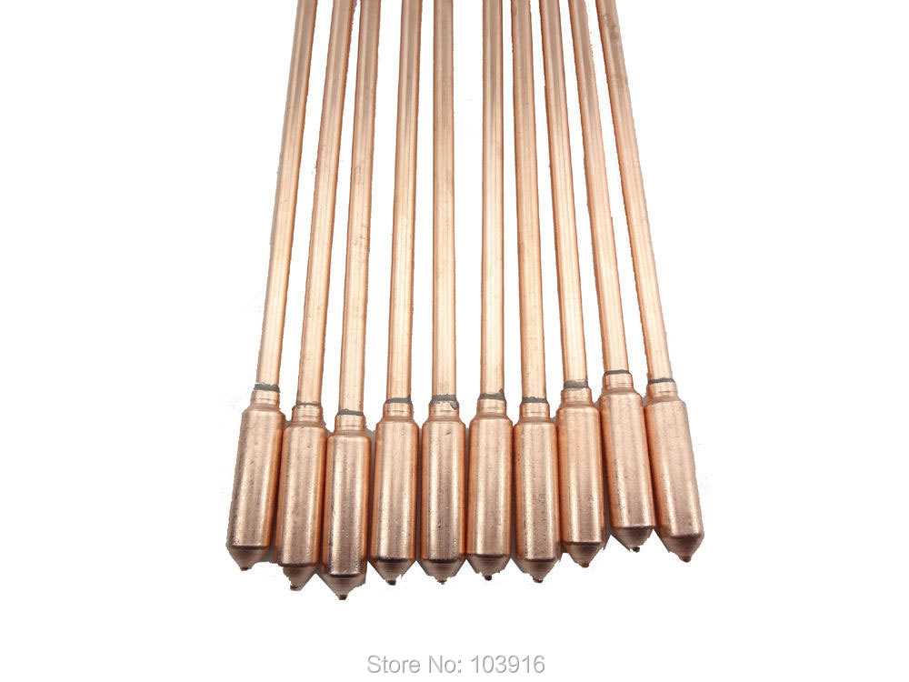 10 Pcs Lot Of Copper Heat Pipe 40cm For Solar Water